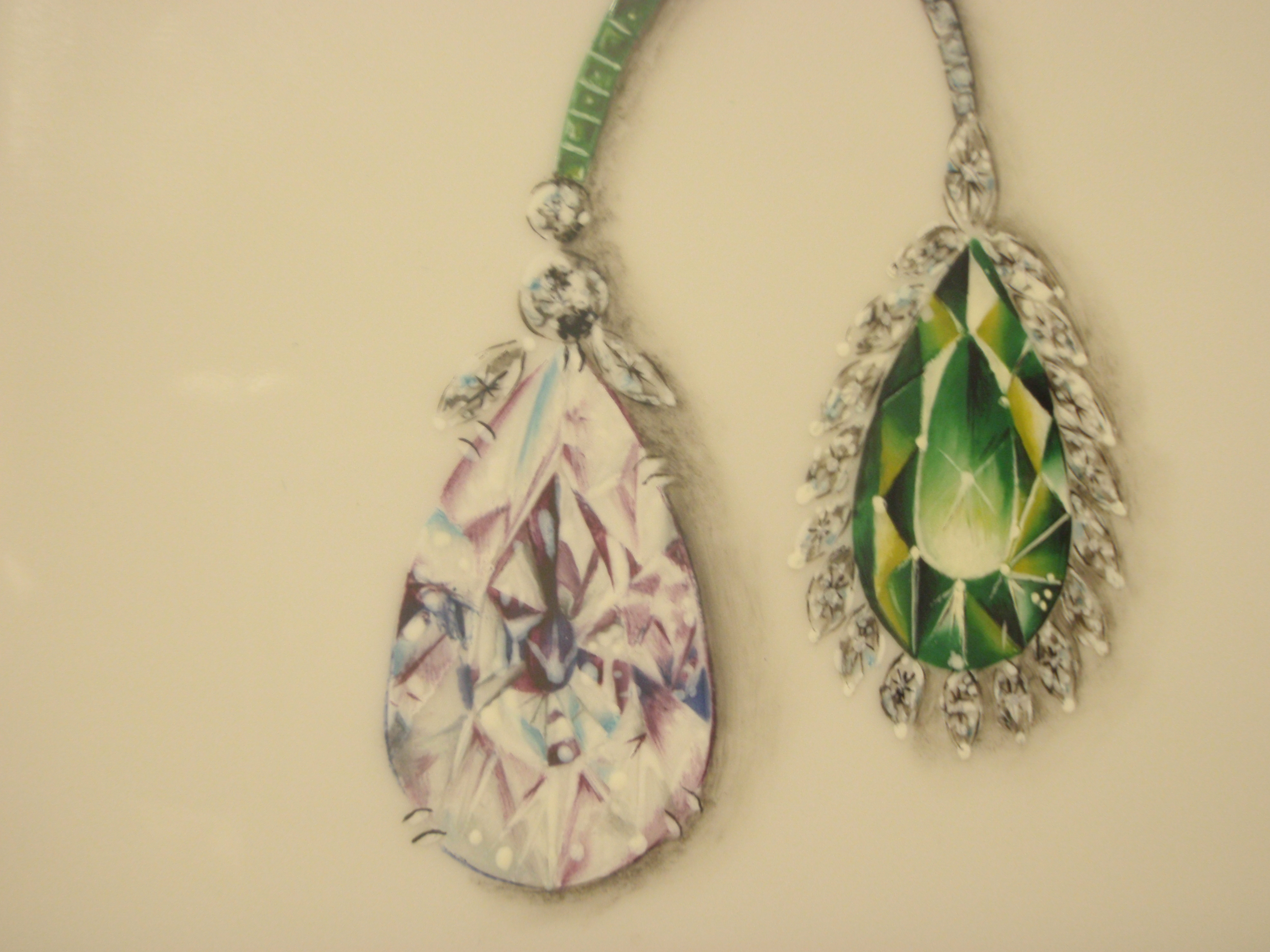 My Jewelry Painting My Porcelain Painting Blog