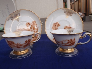 A Cup and Saucer Set