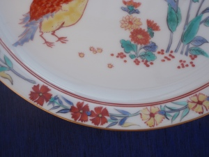 A Quail on A Kakiemon Plate
