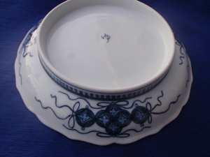 Rare view of Nabeshima Plate with a Japanese Painting Style, Imari Paint