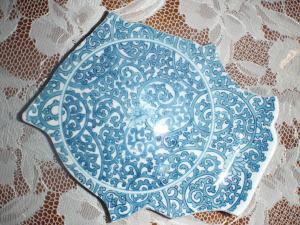 My broken Takokarakusa plate