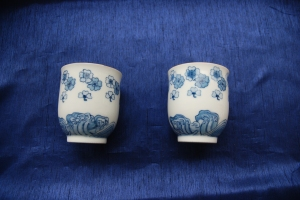 Cups with a Imari painting style for my parents