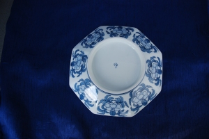 A Back Side View of My Nabeshima Plate with a Japanese Imari Style