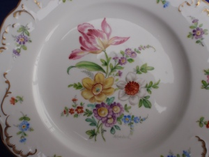 Alfredo's plate that he painted for me