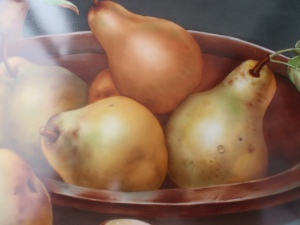 Pears with a Still life Style: Designed by San Do