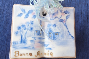 A Book Ornament from France