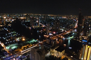 An Amazing Night View of Sirroco  in Bangkok