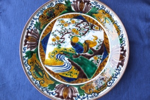 My Hand Painted Kutani Plate