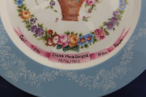 A Baby Plate for the Dresden Style