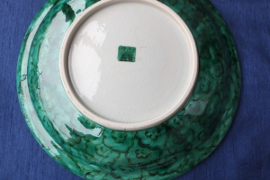 My Kutani Plate Japanese Painting style, Kutani