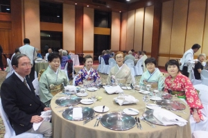 The Japanese Table at the Gara Dinner