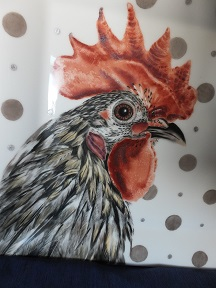 My Rooster Painting