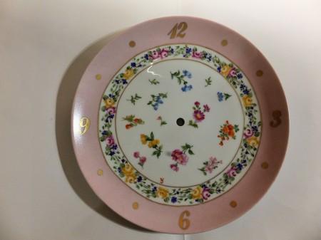 Porcelain clock, Nyon roses, European style