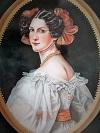 portrait on porcelain,